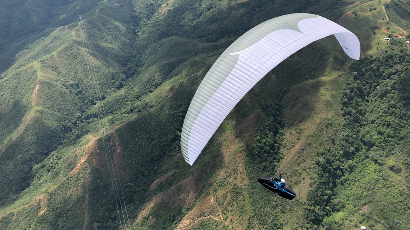 Airlinks Academy SIV Cross Biplace parapente